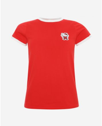 LFC Frauen Hello Kitty Rot T-Shirt