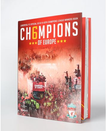 Libro LFC UEFA Winners Book