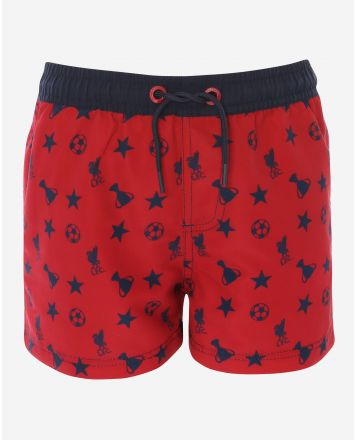 LFC Junior Red Swim Short