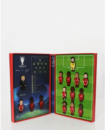 LFC UCL Final Collectors Pin Set