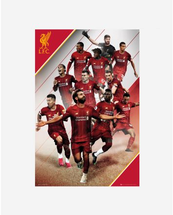 LFC Player Collage 19/20 Poster