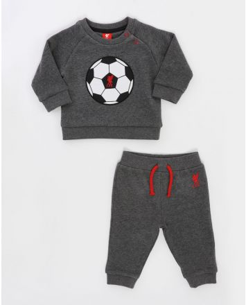 Liverpool FC Baby 4-Piece Set Red//Grey LFC Official