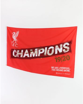 LFC Premier League Champions 19-20 Flag