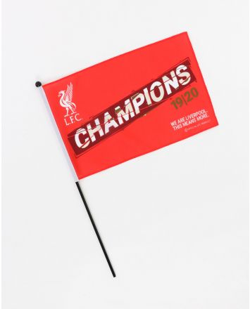 LFC Premier League Champions 19-20 Handheld Flag