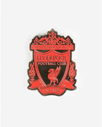 LFC Red & Gold Crest Magnet