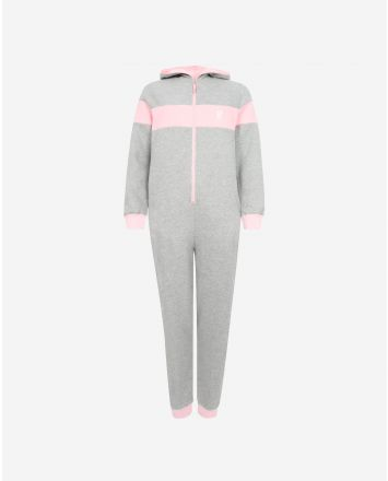 LFC Womens Grey/Pink Onesie