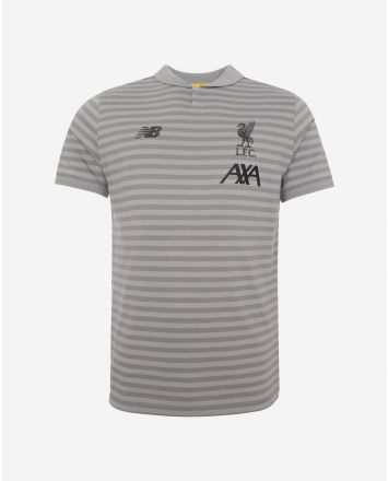 LFC Junior Grey Travel Polo 19/20