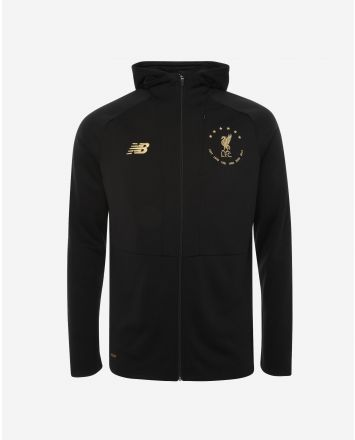 LFC NB 6 Times Junior Black Euro Zip Through Hoody