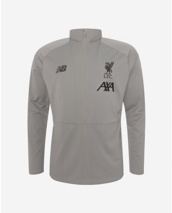 LFC Mens Grey Travel Knit Jacket 19/20
