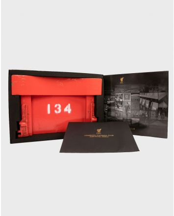 LFC Collector's Edition Main Stand Boxed Wooden Seat