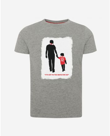 LFC t-shirt gris d'Owen McVeigh (enfant)