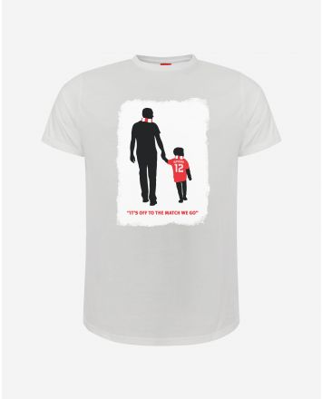 LFC t-shirt blanc d'Owen McVeigh (adulte)