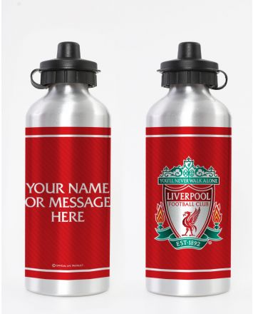 Liverpool FC Personalised Crest Water Bottle