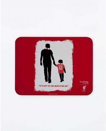 LFC tapis de souris d'Owen McVeigh