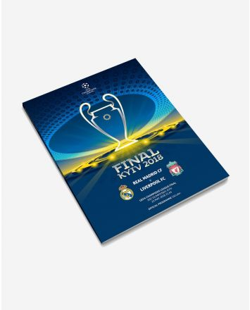 Champions League Final Programme - Real Madrid 26.5.18
