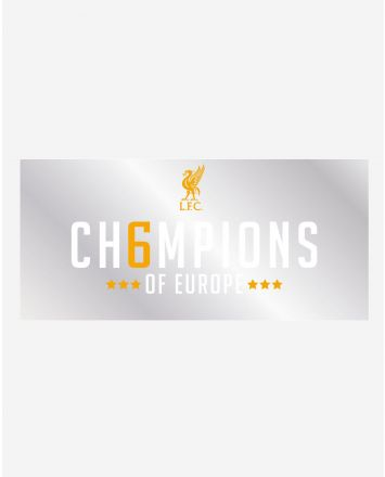 LFC UCL Champions Car Sticker
