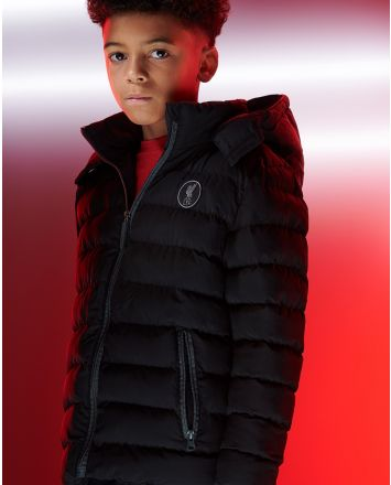 LFC Junior Puffa Jacket Black
