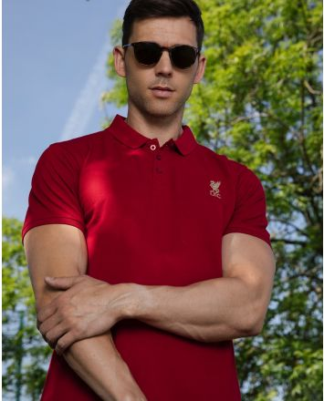 LFC Conninsby Vintage Rot Poloshirt Männer