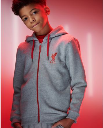 LFC Junior Grey Tracksuit