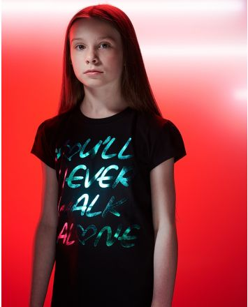LFC Junior YNWA Holographic Tee