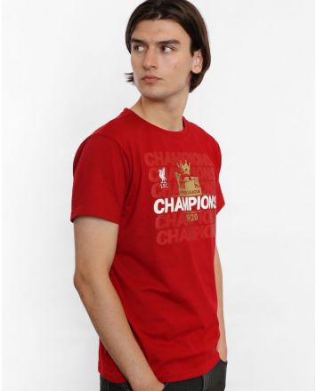 LFC Adults EPL Champions 19-20 Red Tee