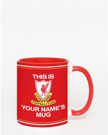LFC Personalised This is Anfield Mug
