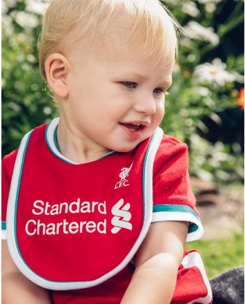 Liverpool FC Football Club Baby 0-3 Months Sleepsuit//Pyjama//Babygrow Romper Home KIT Authentic Red//Yellow
