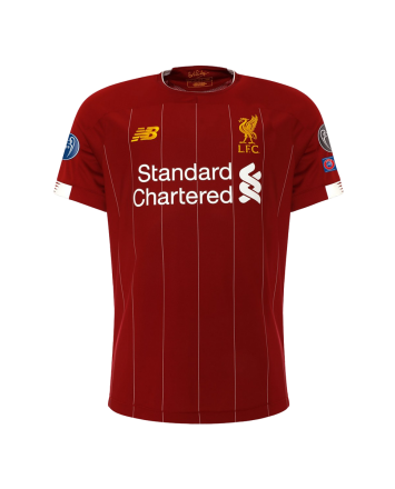LFC Mens European Home Shirt 19/20