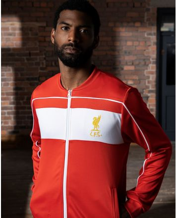 LFC Retro Sportjacke 1982 Crown Paints Erwachsene