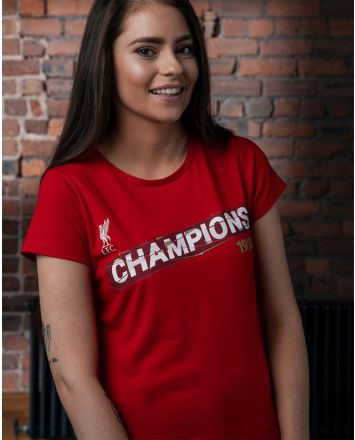 LFC Womens Premier League Champions 19-20 Red Tee