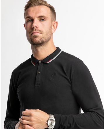 LFC Firma Mens Long Sleeve Polo Shirt