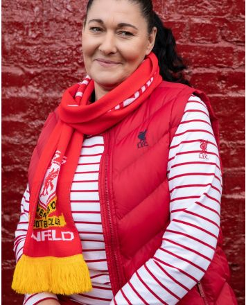 LFC Womens Red Quilt Gilet