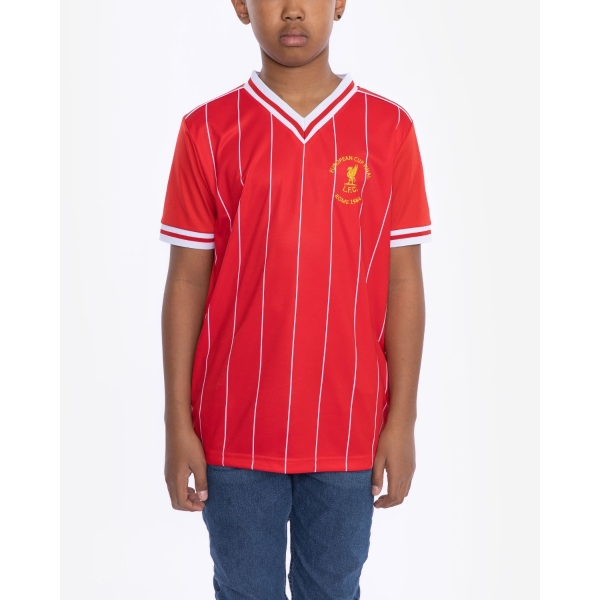 LFC Retro Junior 1984 Rome Home Shirt