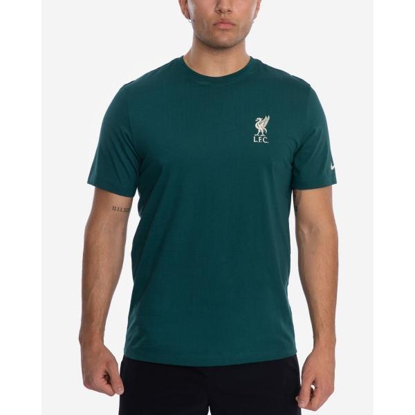 Clothing|Liverpool LFC Nike Mens Teal Travel Tee